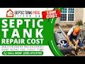 Septic Tank Repair Cost Albany GA | Call (229) 472-5753