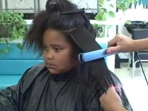 Japanese Hair Straightening on African American Hair African American Hair Texture