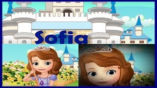 Princess Sofia The First Movie Episodes-Sofia Doing Cleaning Gameplay for Kids