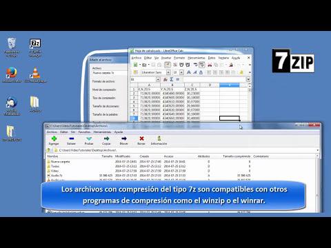 7-Zip Tutorial en español – Software Libre para comprimir archivos.