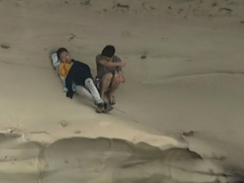 Raw: Two Men Rescued From Sydney Cliff Face