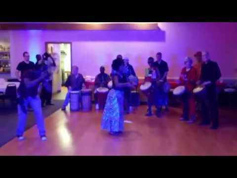 Beautiful Africa event..DJCITY & African cultural group, drums, music, nigeria