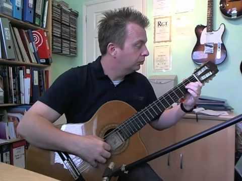 Minuet op.21 no.12 - Matteo Carcassi - Trinity Guitar Grade 3