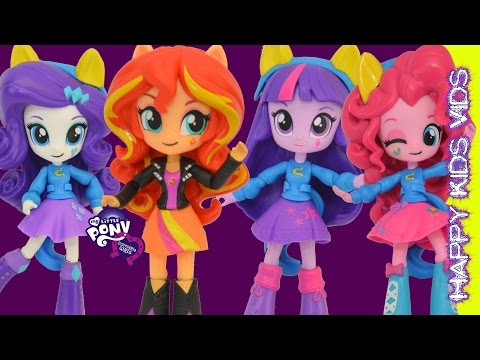 My Little Pony Equestria Girls Minis Sunset Shimmer Custom Toy Review