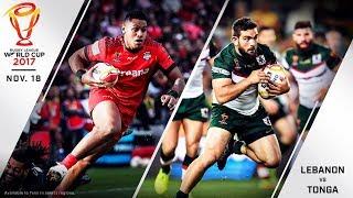 Lebanon vs Tonga Live Stream - 2017 Rugby League World Cup Quarterfinal