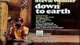 Watch Stevie Wonder Mr. Tambourin Man video
