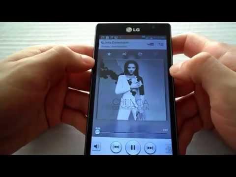 LG L9 Reproductor de Musica LG Optimus G2 en LG Optimus L9