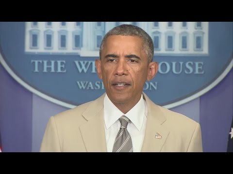 President Obama on ISIS threat, violence in Ukraine, Russia