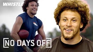 Undrafted NFL STAR Training & Workout | Phillip Lindsay Denver Broncos