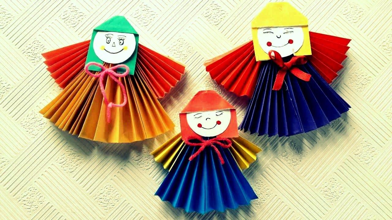 Поделки куклы с оригами 141