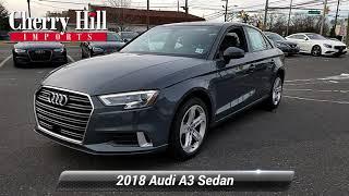 Certified 2018 Audi A3 Sedan Premium, Cherry Hill, NJ LA7316
