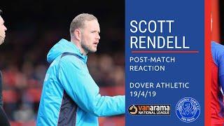 ShotsTV - Scott Rendell reacts to Dover defeat
