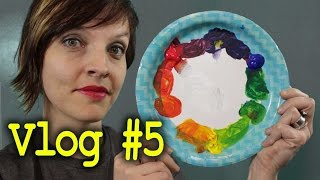 Art Vlog #5 Basic Color Theory and Color Mixing from Paint Swatches