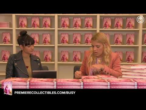 Busy Philipps Book Signing & Interview  
