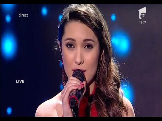 "Duel: Whitney Houston - ""One Moment In Time"".  Interpretarea Adinei Răducan, la X Factor!"
