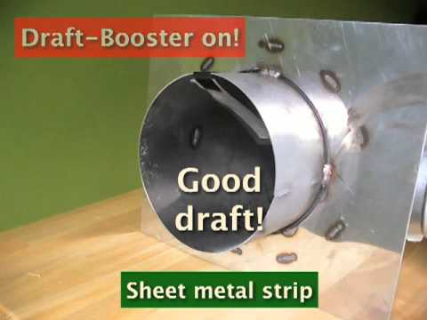 Draft Booster For Wood Stoves Youtube