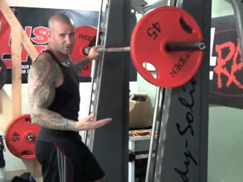 Smith Machine Standing Calf Raise by Jim Stoppani Image 1