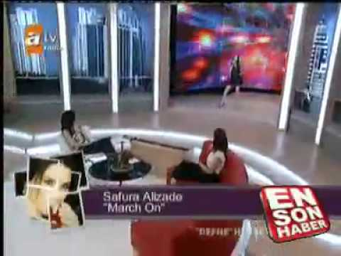 Safura - March on (live at ATV)