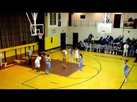 8 | Girls | Nazareth Regional High School ( Brooklyn ) Vs The Mary Louis Academy ( Queens )