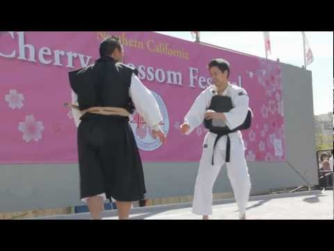 2012 SF Cherry Blossom Festival Shorinji Kempo Demonstration