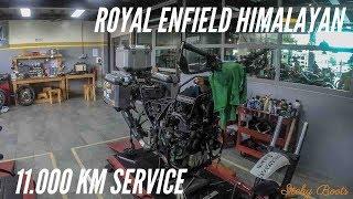 11.000 Km Service - Royal Enfield Himalayan BS4 (2018)