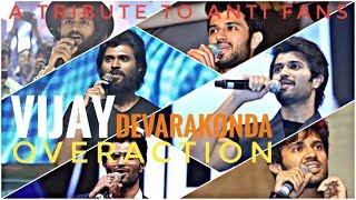 Vijay Devarakonda Overaction || A Tribute to Antifans || Must watch Troll Video ||