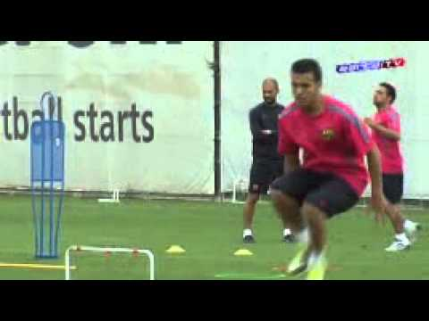Lionel Messi { The Legend }barca training 13 8 2010