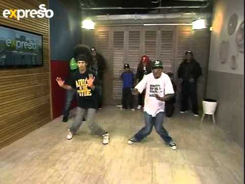African Hip Hop Indaba Group Break Dance  Live On Expresso (20.08.2012) (2) video