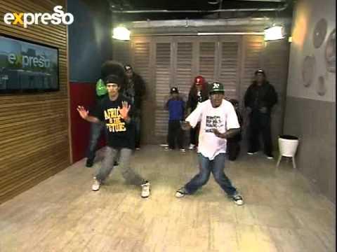 African Hip Hop Indaba Group Break Dance  Live On Expresso (20.08.2012) (2) video