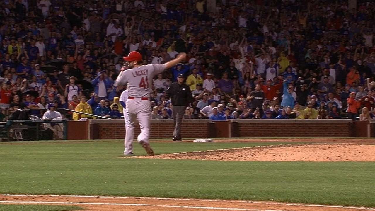 7/6/15: Cards break out late-game lumber to down Cubs
