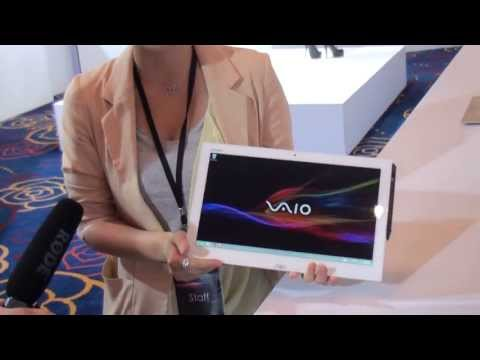 Computex 2013: Sony Vaio Duo 13 Hands-On (English)