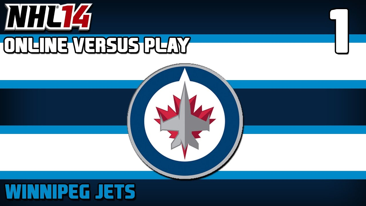 nhl winnipeg jets wallpaper NHL 14 Online Versus Play ep 1 Winnipeg Jets YouTube