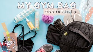 My Gym Bag Essentials + Workout Food - Honeysuckle