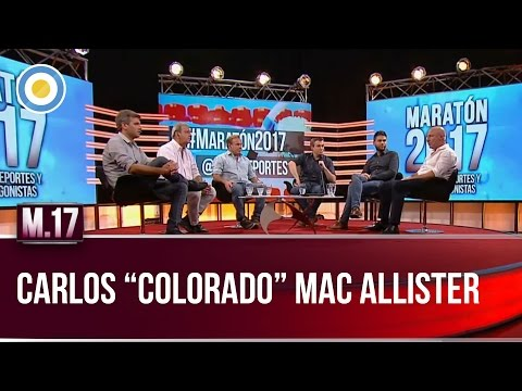 "Carlos ""Colorado"" Mac Allister en #Maratón2017 (2 de 3)"