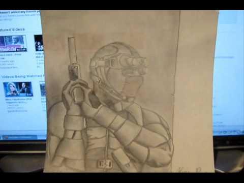 Drawing Splinter Cell