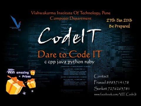 download lagu Codeit - Computer Department Event - Vit, Pune gratis