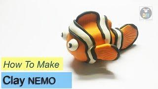 How to make clay NEMO FISH