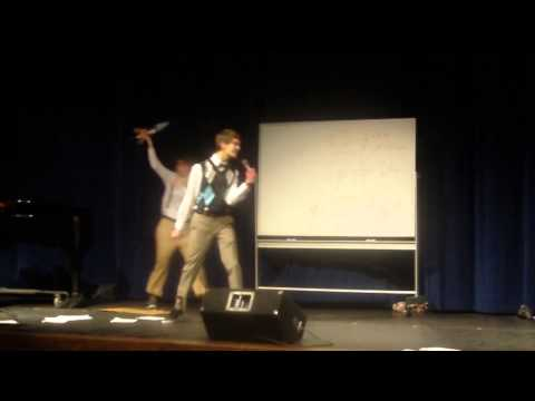 2014 Overland High School Talent Show - White and Nerdy