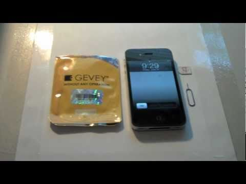 How To Gevey Supreme Pro Plus Unlock for iPhone 4 iOS 4.3.3 BB 04.10.01 with Jailbreak