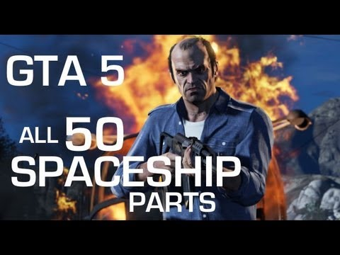 GTA 5 All 50 Spaceship Parts