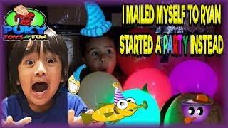 I MAILED MYSELF TO RYAN TOYSREVIEW BUT STARTED A PARTY INSTEAD - Puky Toys&Fun