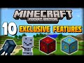 ✔ Minecraft PE - 10 Exclusive Features That Are ONLY in Pocket Edition