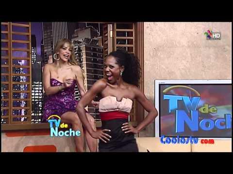 Aleida Nunez Cecy Gutierrez Sugey Abrego Tetotas Minivestido Rosa Negro HD