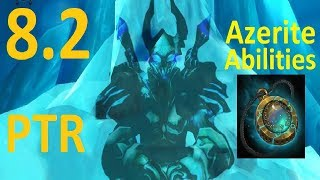 8.2 PTR Azerite Neck Abilities - Frost Unholy Blood DK - Discussion