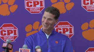 TigerNet: Venables talks impact of seniors being honored Saturday