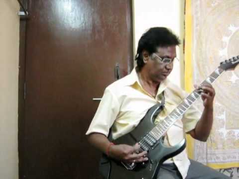 JOTHEYALI .. FILM GEETHA (KANNADA)on guitar by vijayaraj.avi