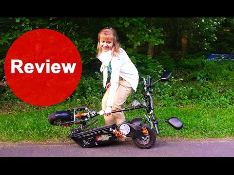 MACH1 Electric Scooter 1000W 48V - Review