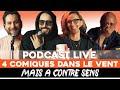 Ep 6 - Redouanne Harjane, Anne-Sophie Girard, Tareek, Seb Mellia - Podcast thumbnail