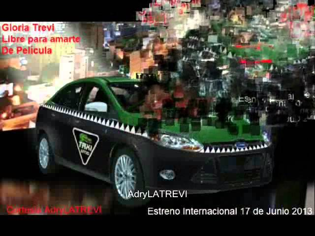 Gloria Trevi LIBRE PARA AMARTE (Tema oficial de la telenovela)
