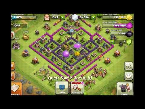 Clash Of Clans: Best Town Hall 8 farming setup